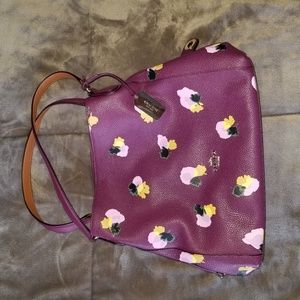 Coach Bag 14in x 11in Floral Design - Brand New